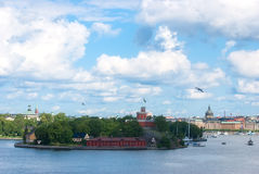 View of the old town of Stockholm. Stock Photography