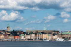 View of the old town of Stockholm. Stock Photos