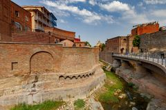 Tbilisi. Old city. Stock Image