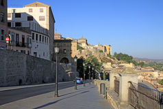 View on old town of Toledo, Spain Royalty Free Stock Photography