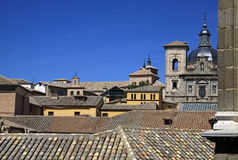 View on old town of Toledo, Spain Royalty Free Stock Photos