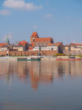 View of old town of Torun, Poland Royalty Free Stock Images
