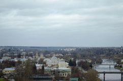 View of Torzhok Tver region Russia royalty free stock image