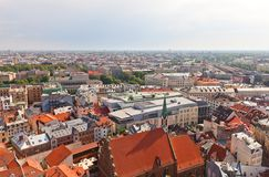 View of Old Town (UNESCO site). Riga, Latvia Royalty Free Stock Photos