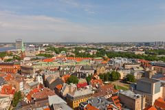 View of Old Town (UNESCO site). Riga, Latvia Stock Photography