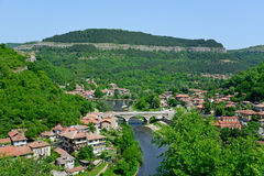 View from old town Veliko Tarnovo Stock Images