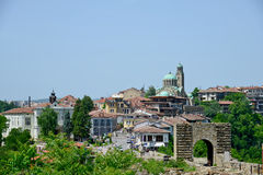 View from old town Veliko Tarnovo Stock Image