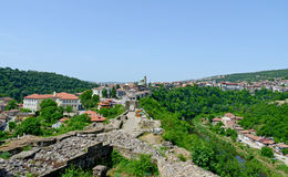 View from old town Veliko Tarnovo Royalty Free Stock Photography