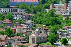 View from old town Veliko Tarnovo Stock Photography