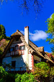 Traditional home in Maderia. View of an old traditional home in a garden in Madeira island, Portugal Stock Image