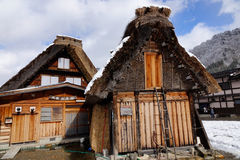 View of the old village in Takayama, Japan Royalty Free Stock Image