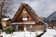 View of the old village in Takayama, Japan Stock Image