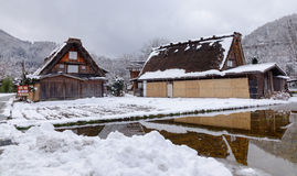 View of the old village in Takayama, Japan Stock Photography