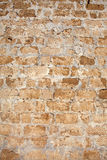 View at old wall. Photo for background Royalty Free Stock Photography