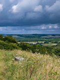 View from Old Winchester Hill Royalty Free Stock Image