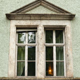 View of old window Royalty Free Stock Photo