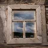 View of old window Stock Photo