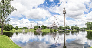 View of the Olympiapark, Munich Stock Images