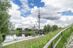 View of the Olympiapark, Munich Royalty Free Stock Photos