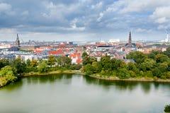 View On Center Of Copenhagen, Denmark Royalty Free Stock Image