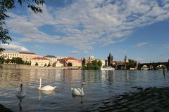 Free View On Charles Bridge Royalty Free Stock Images - 11029339