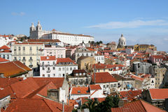 View On City Lisbon Stock Photography
