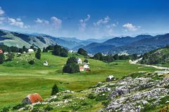 Free View On Hairpin Road To Risan. Montenegro. Royalty Free Stock Images - 111642019