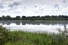 View On Lake Tisza Stock Image