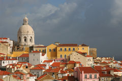 View On Lisbon Royalty Free Stock Photography