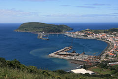 View On Port In Azores Royalty Free Stock Photo
