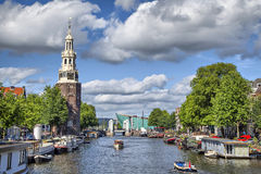 Free View On The Famous Munttoren Tower Royalty Free Stock Photography - 42325077