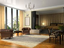 Free View On The Modern Hotel Suite Stock Photo - 8931940