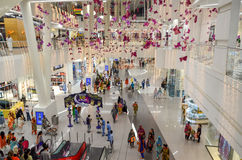 Shopping Mall Interiors. A view of one of the biggest malls of Pakistan, the Emporium Shopping Mall, Lahore, Punjab, Pakistan Royalty Free Stock Image