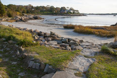 Scenic Gloucester. This is a view of one of the many coves in Gloucester, MA Royalty Free Stock Photography