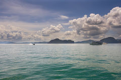 View of one of the Similan Islands Stock Photo