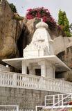 Chapel at Birla Mandir, Hyderabad. View of one of the Temple chapels at the Hindu Birla Mandir in the centre of Hyderabad, Andhra Pradesh.  The Hindu temple is Stock Photos