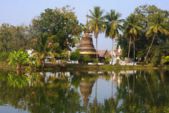 View of one of the temples in Sukhothai Stock Image