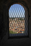 View through one of the windows Euphemia Cathedral Royalty Free Stock Image