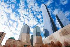 The view of one world trade center in New York Royalty Free Stock Image