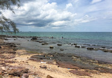 View of Ong Lang beach in Phu Quoc, Vietnam Stock Photo