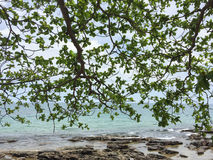View of Ong Lang beach in Phu Quoc, Vietnam Royalty Free Stock Photo