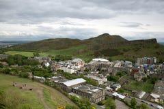 View onto Edinburgh Royalty Free Stock Images