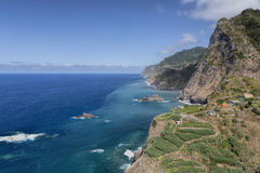 View onto Madeira's North Coast Stock Photos