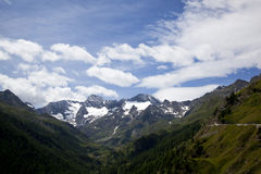 View onto the Oetztal Alps Stock Images
