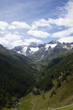 View onto the Oetztal Alps Stock Image