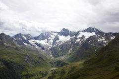 View onto the Oetztal Alps Royalty Free Stock Photography