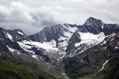 View onto the Oetztal Alps Royalty Free Stock Image