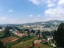 View of Ooty - Hill Station Royalty Free Stock Images