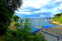 View on Opatija, Croatia, HDR effect Royalty Free Stock Photo