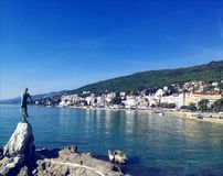 View of Opatija stock images